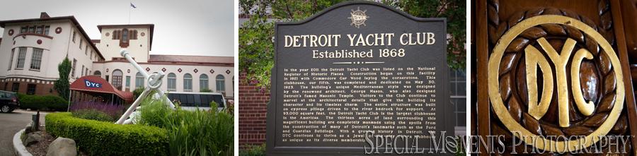 Detroit Yacht Club Belle Isle Detroit MI wedding photograph