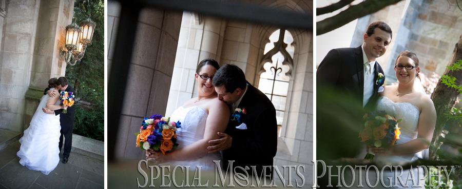 Law Quad Ann Arbor MI wedding photograph