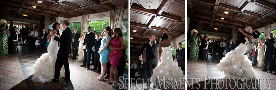 Pine Knob Mansion Clarkston MI wedding reception photograph