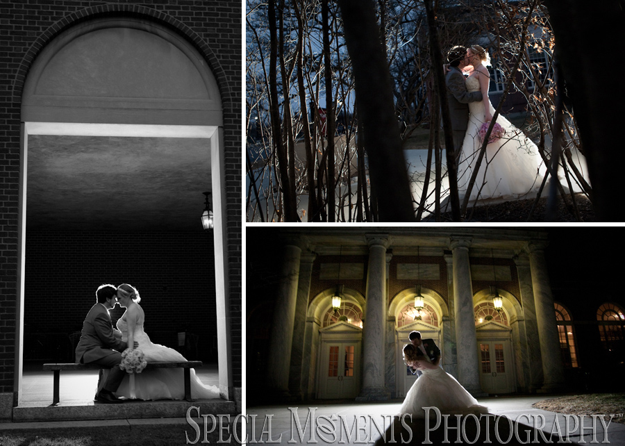Lovett Hall Greenfield Village Dearborn MI wedding photograph
