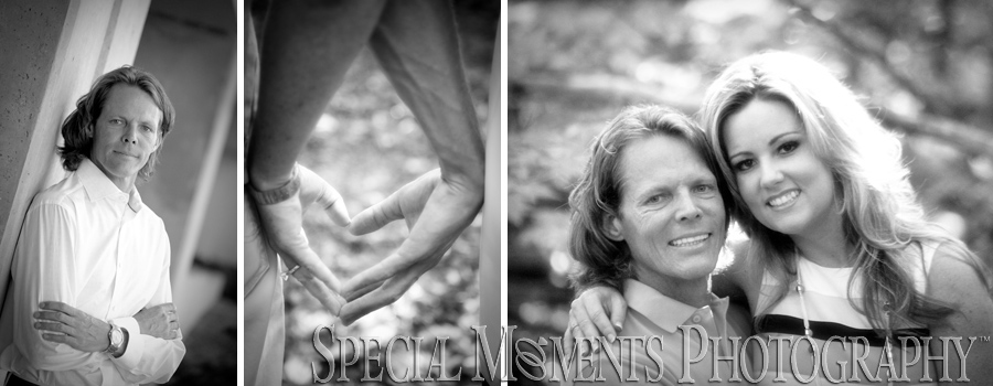 Civic Center Park Southfield MI engagement photograph