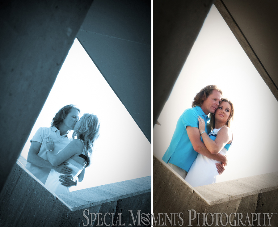 Downtown Southfield MI engagement photograph