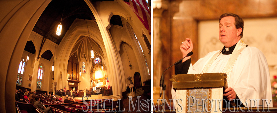 St. John Episcopal Church Detroit MI wedding photograph