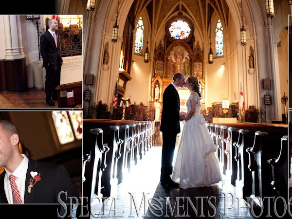 Brad & Jami:  Wedding Album Design Layout: St. John Episcopal Church Detroit MI Wedding