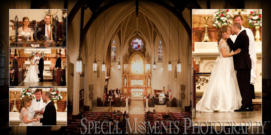 St. John Episcopal wedding photograph Detroit MI
