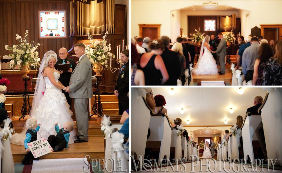 Heritage Park Chapel Taylor MI wedding photograph
