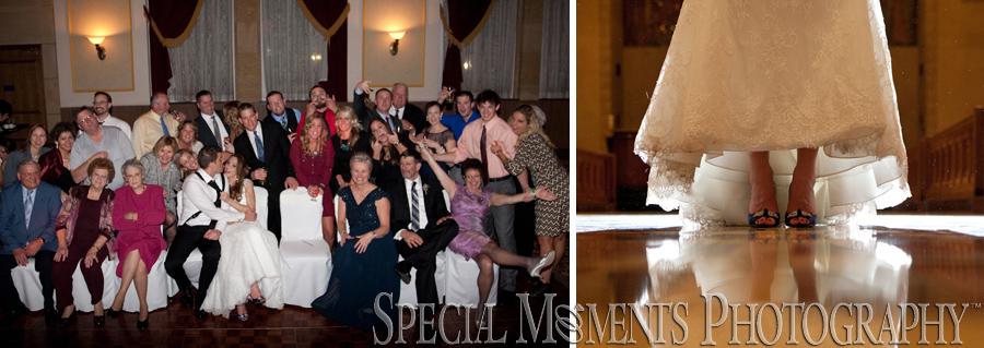Inn At St. John Galilee Ballroom Plymouth MI wedding photograph