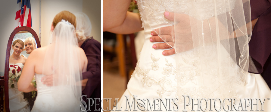 First United Methodist Northville MI wedding photograph