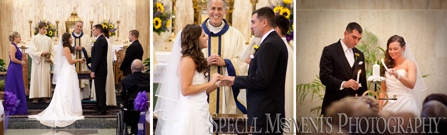 Divine Child Catholic Church Dearborn MI wedding photograph
