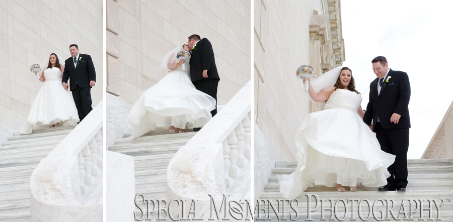 DIA Detroit Institute of Arts Detroit MI wedding photograph