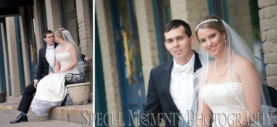 Kellogg Park Downtown Plymouth MI wedding photograph