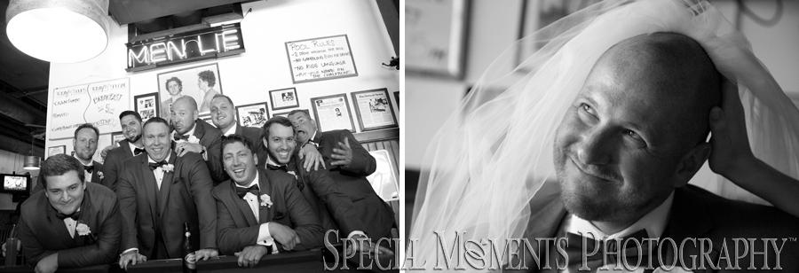 Honest John's Bar & No Grill Detroit MI wedding photograph