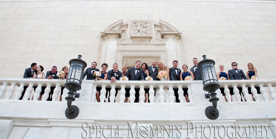 DIA Detroit Institute of Arts Detroit MI wedding photograph