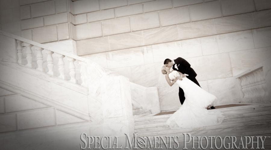 DIA Downtown Detroit MI wedding photograph