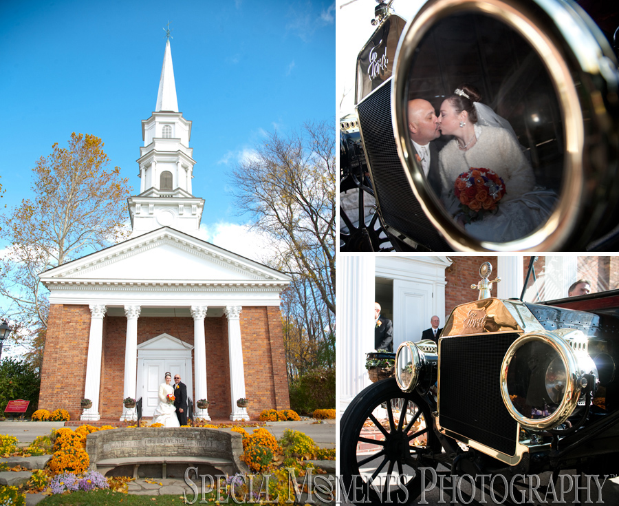 Martha Mary Chapel Greenfield Village Dearborn MI wedding photograph