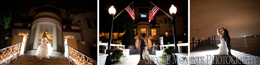 Detroit Yacht Club Detroit MI on Belle Isle wedding photograph