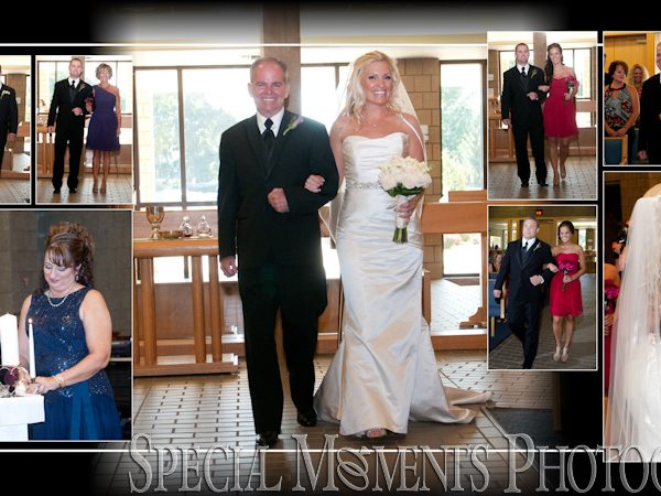 John & Katie's Album Design: Inn at St John's Grand Ballroom Reception Plymouth MI