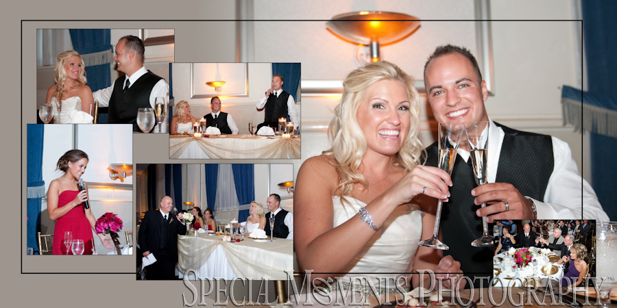 Inn at St. John's Grande Ballroom Plymouth MI wedding photograph