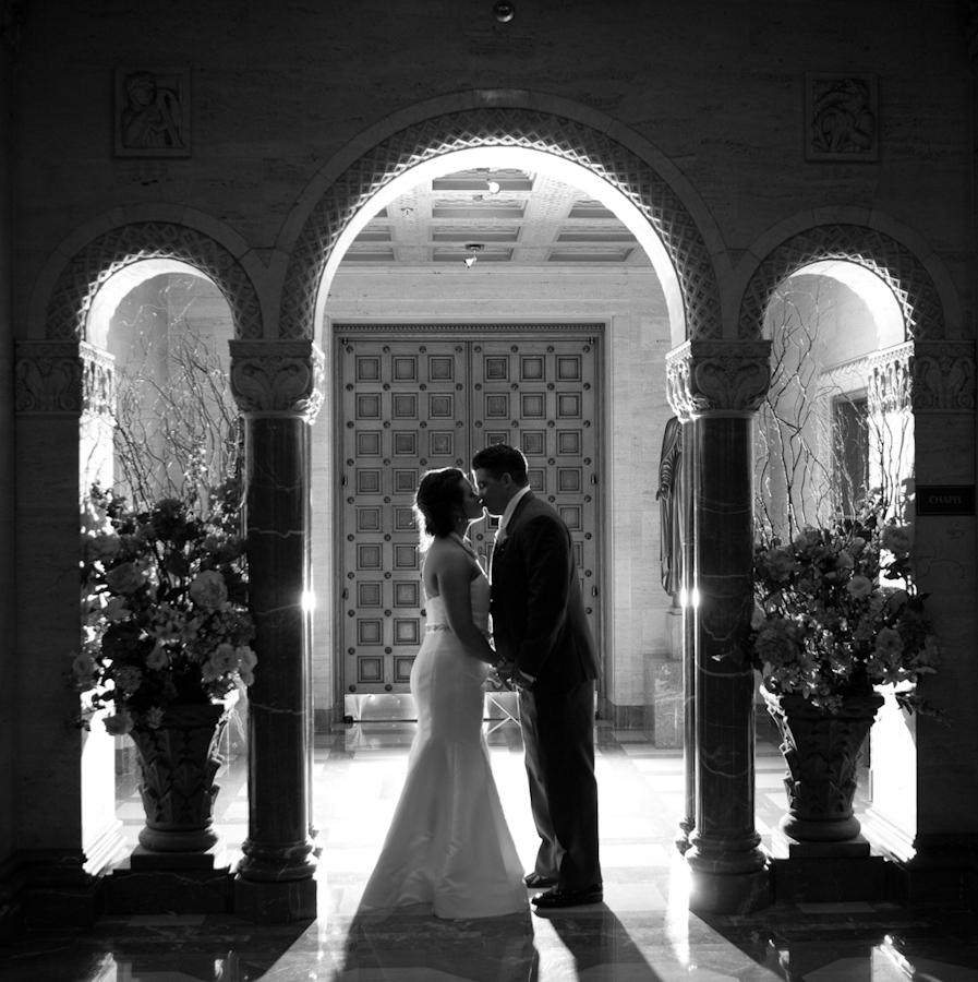 Inn at St. John's Grande Ballroom Plymouth wedding photograph