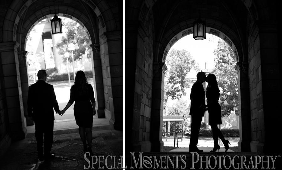 Ann Arbor Law quad wedding photograph
