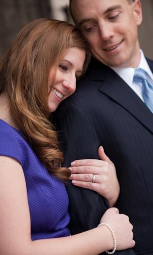 Kristen & Gary's Engagement: Ann Arbor Law Quad Photos
