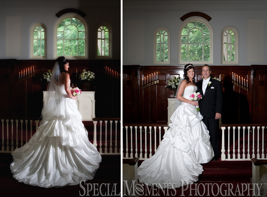 Martha-Mary Chapel Greenfield Village Dearborn MI wedding photograph