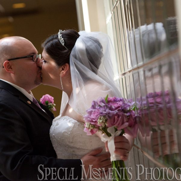 Elizabeth & Jeff: Wedding at Embassy Suites Livonia MI & Reception