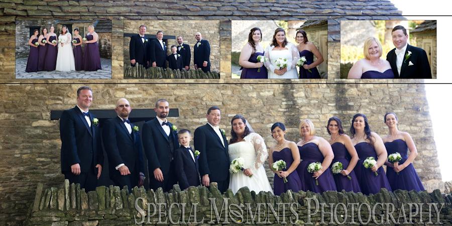 Martha-Mary Chapel Greenfield Village Dearborn MI wedding photograph