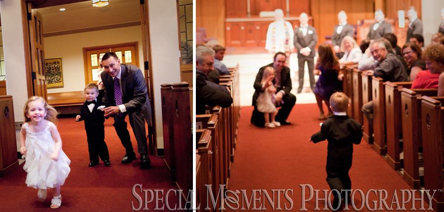 First United Methodist Birmingham MI wedding photograph