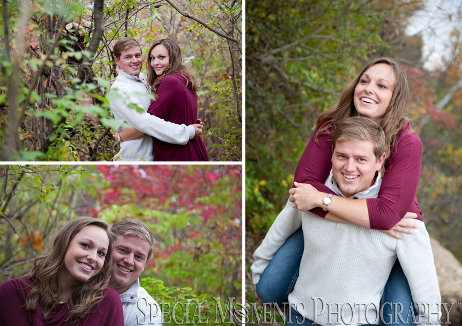 Wilcox Lake Plymouth MI engagement wedding photograph
