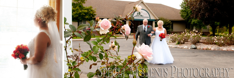 Woodlands Golf Course Wayne MI wedding photograph