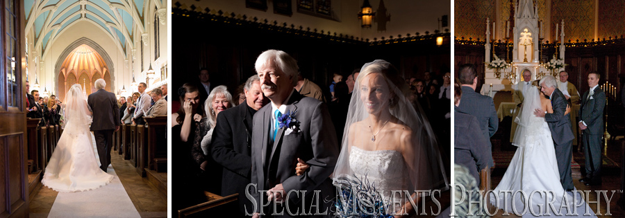 Grosse Pointe Academy Chapel Grosse Pointe Farms MI wedding photograph