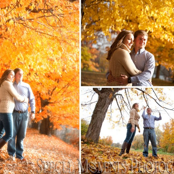 Shannon & Jacob Engagement: Wilcox Lake Park Plymouth Michigan Engagement Photos
