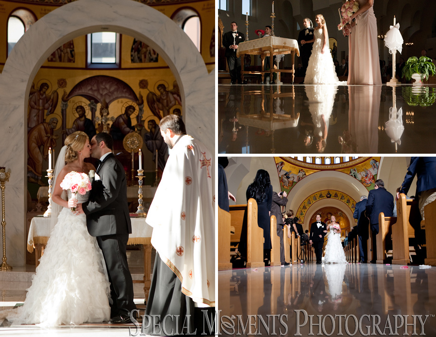 Annunciation Cathedral Greek Orthodox Detroit MI wedding photograph