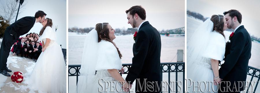 Bishop Park Wyandotte MI wedding photograph