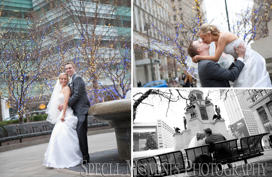 DIA & Downtown Detroit MI wedding photograph