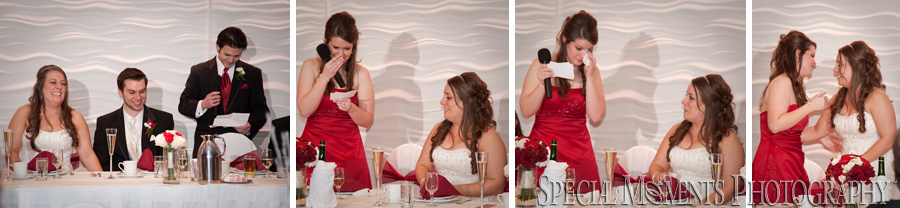 Arnaldos Riverview wedding photograph Banquet Center MI