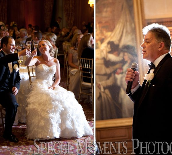 Elizabeth & Steve: Annunciation Cathedral Greek Orthodox Church & Detroit Athletic Club Wedding Reception