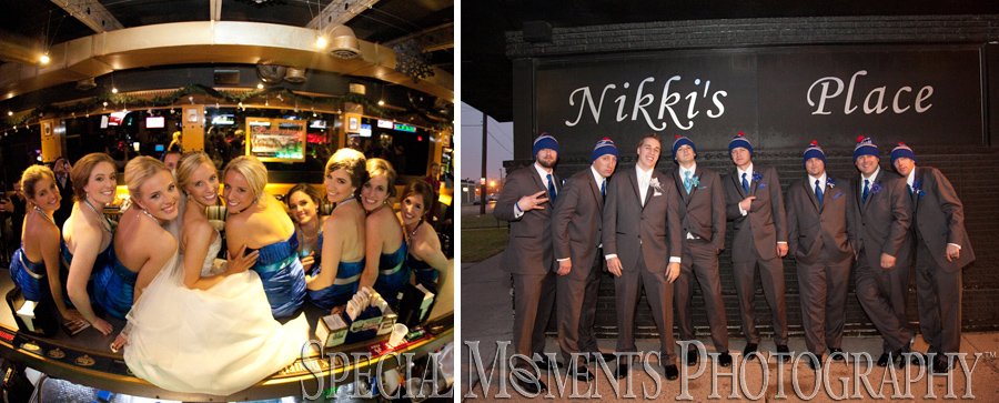 Nikki's Place Bar Detroit MI wedding photograph