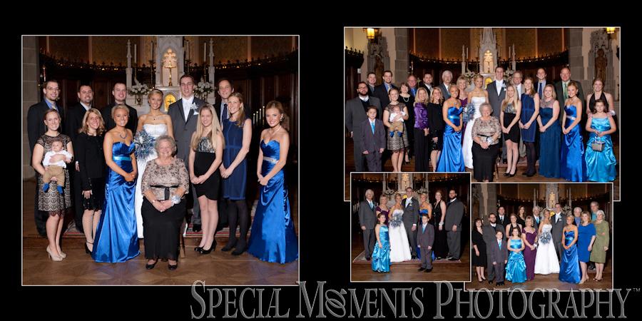 Grosse Pointe Academy Chapel Grosse Pointe Farms MI wedding photograph
