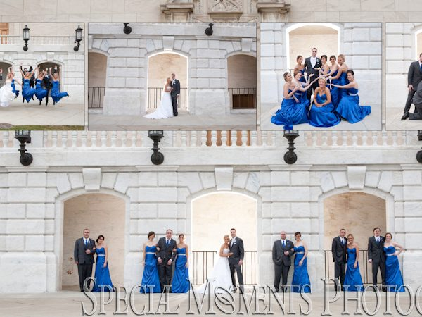 Timothy & Samantha Wedding Album Design: The Grand Palazzo Shelby Twp MI