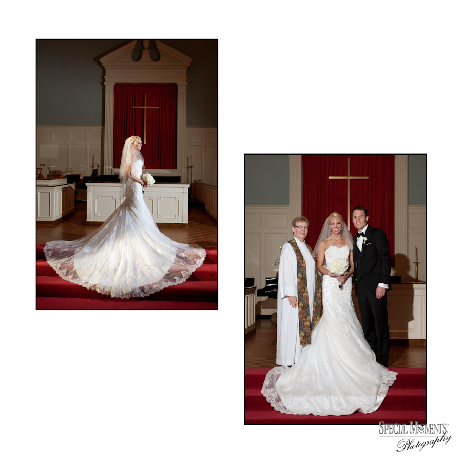 Cherry Hill Presbyterian Dearborn MI wedding photograph