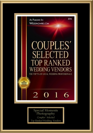 WeddingWire Top Ranked