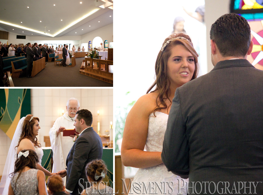Holy Spirit Roman Catholic Brighton MI wedding photograph