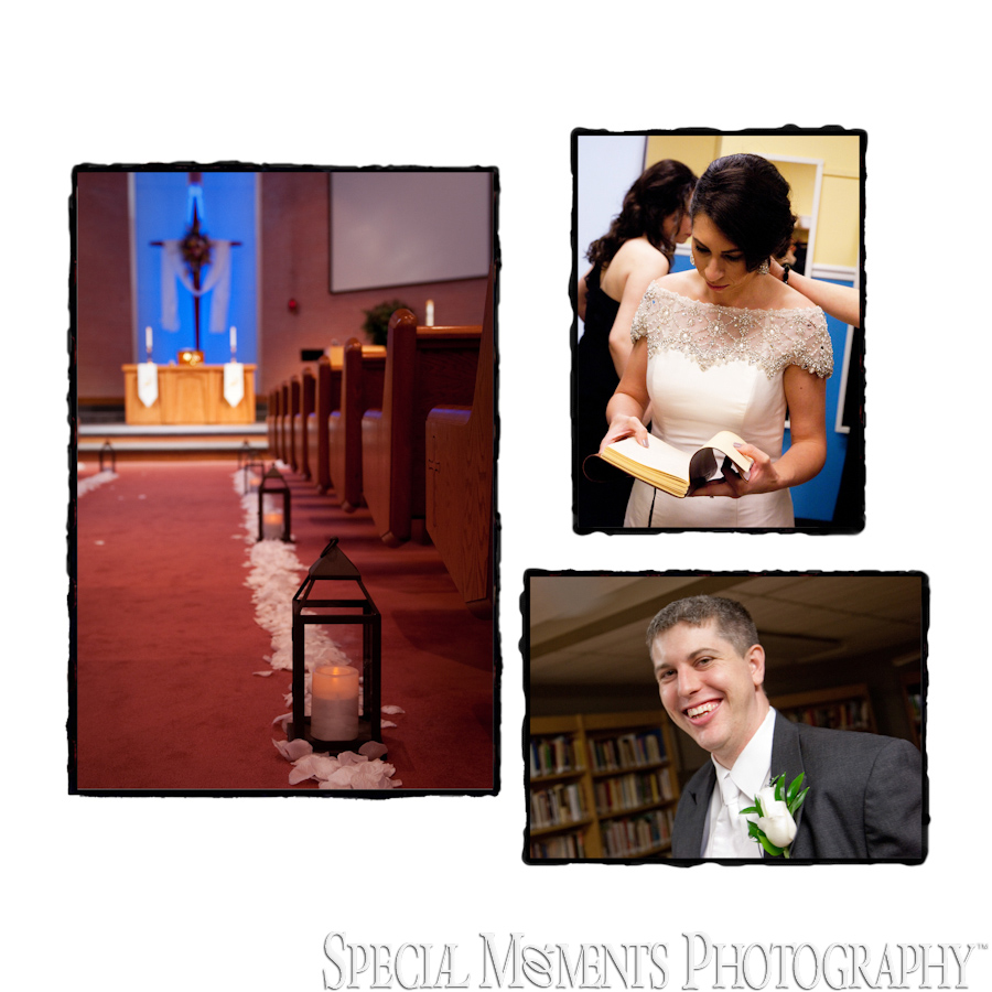 St. Michael Lutheran Canton MI wedding photograph