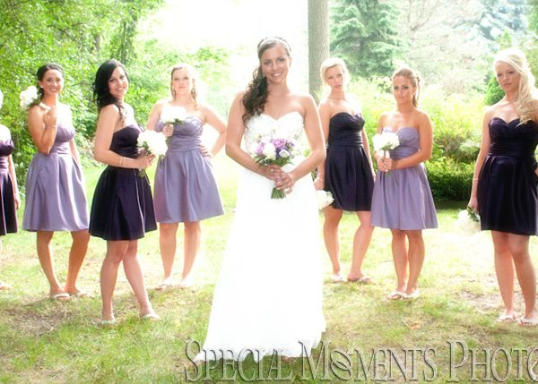 Brittany & Troy: Home Wedding & Home Reception in Michigan