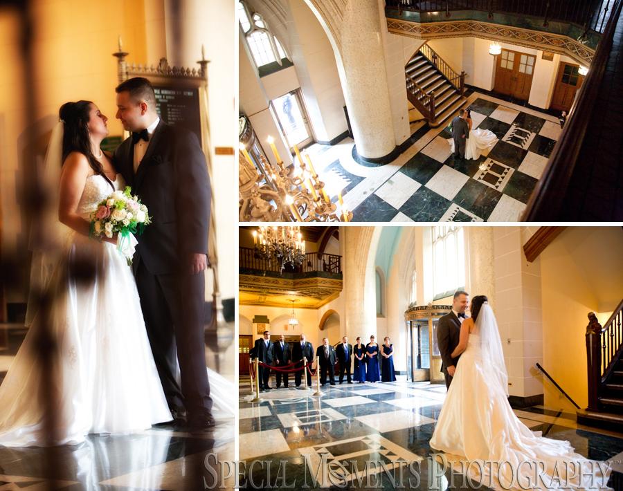 Masonic Temple Detroit Mi Wedding Photograph