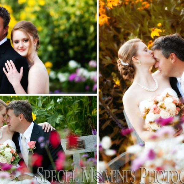 Sarah & Chad's Matthaei Botanical Gardens Wedding in Ann Arbor