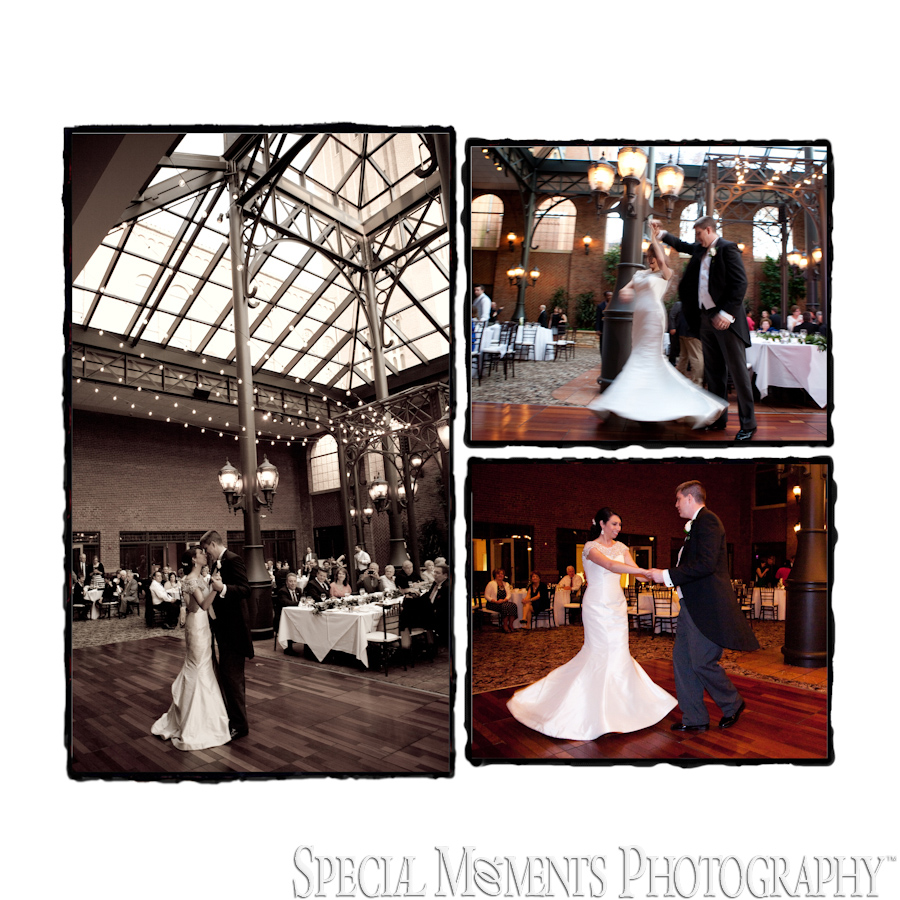 Inn At St. John Atrium Plymouth MI wedding photograph