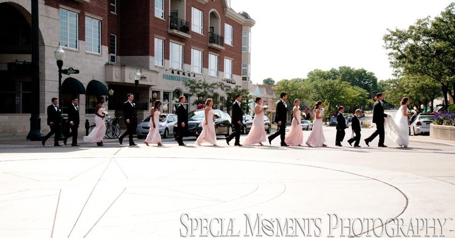 Kellogg Park Plymouth MI wedding photograph